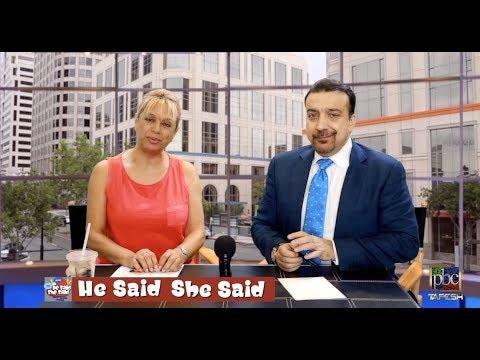 He Said She Said - August 8, 2018 Vida Heravi and Alireza Amirghassemi