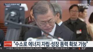 경제 행보 문 대통령, 수소에너지 중심지 울산 찾아 / 연합뉴스TV (YonhapnewsTV)