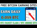 Free Bitcoin Mining Website 2020  Mine 0.0005BTC Daily  live proof, How to Learn.