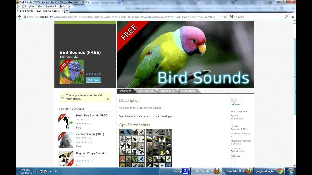 Bird Sounds - Free Birds Soundboard Sound Android Apps - Download Android  Apps