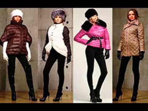 Пуховики женские зима 2015 - 2016