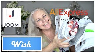 Mixed Haul:  AliExpress, Joom and Wish!!! I'm BAAACK!!
