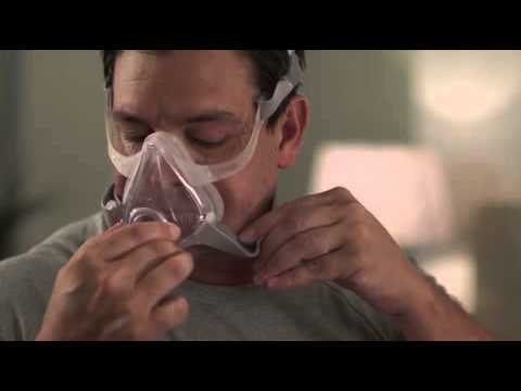 how to fit your airfit f10 full face cpap mask
