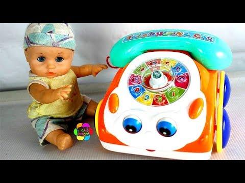 لعبة التليفون السيارة الحقيقى الجديد للاطفال اجمل العاب السيارات بنات واولاد real new phone toy game