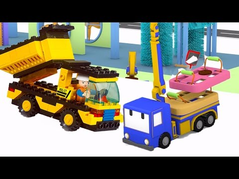 Learn having fun with Tiny Trucks: Learn colors, numbers, fruits, shapes ! | Educational cartoon