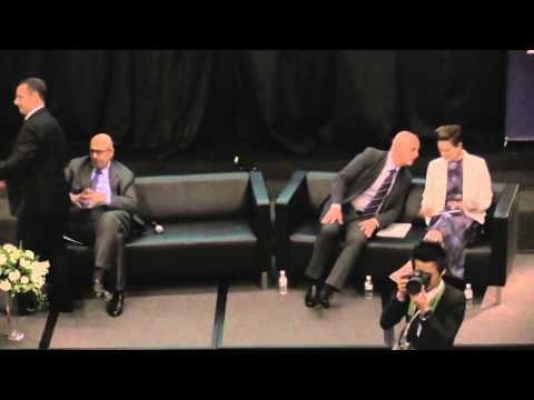 Dr. Mohamed ElBaradei's dialogue at AIS facilitated by the International Peace Foundation