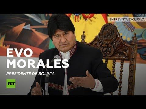 """Evo Morales a RT: """"El reparto imperial del pasado se convirtió en una invasión con bases militares"""""""
