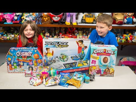 HUGE BEYBLADE Burst Toy Chocolate Egg Surprise Maker Ooshies Toys for Boys & Girls Kinder Playtime