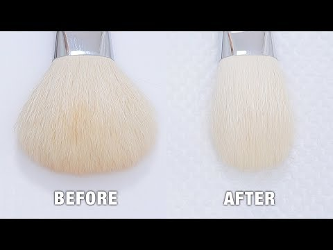 HOW TO: Reshape Makeup Brushes (Easy!)