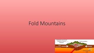 Fold Mountains Quiz (GCSE Geography AQA A)