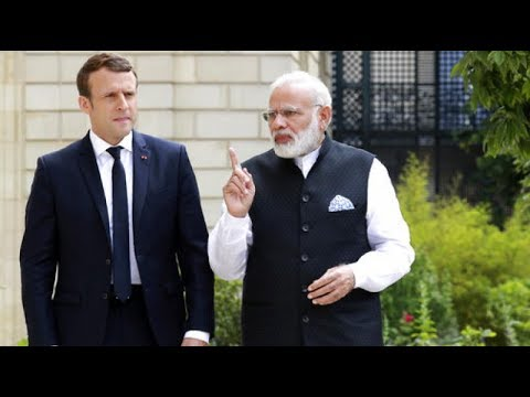 French Media On Narendra Modi Meeting Emmanuel Macron - India And France Business Deals