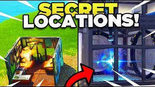 *NEW* Map Changes In Season 6 With SECRET UNDERGROUND BUNKER! (Fortnite)