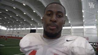 Houston Football: Isaiah Johnson After Practice 8.6.18