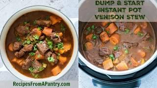 Instant Pot Venison Stew Video