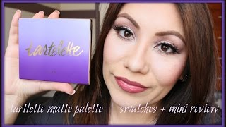 Tartelette Matte Palette Swatches + Mini Review Thumbnail