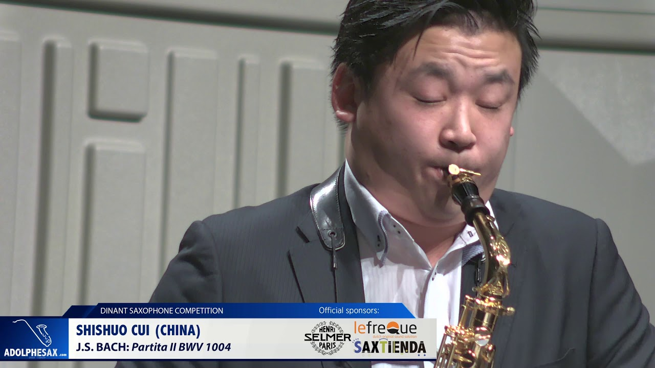 Shishuo Cui (China) - Partita II by J S Bach (Dinant 2019)