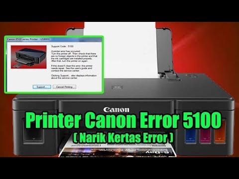 Printer Canon Narik Error Terkadang Narik Kertas Sendiri Serta