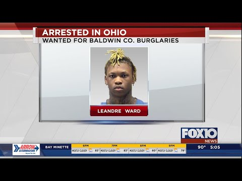 Baldwin County fugitive arrested in Ohio - YouTube