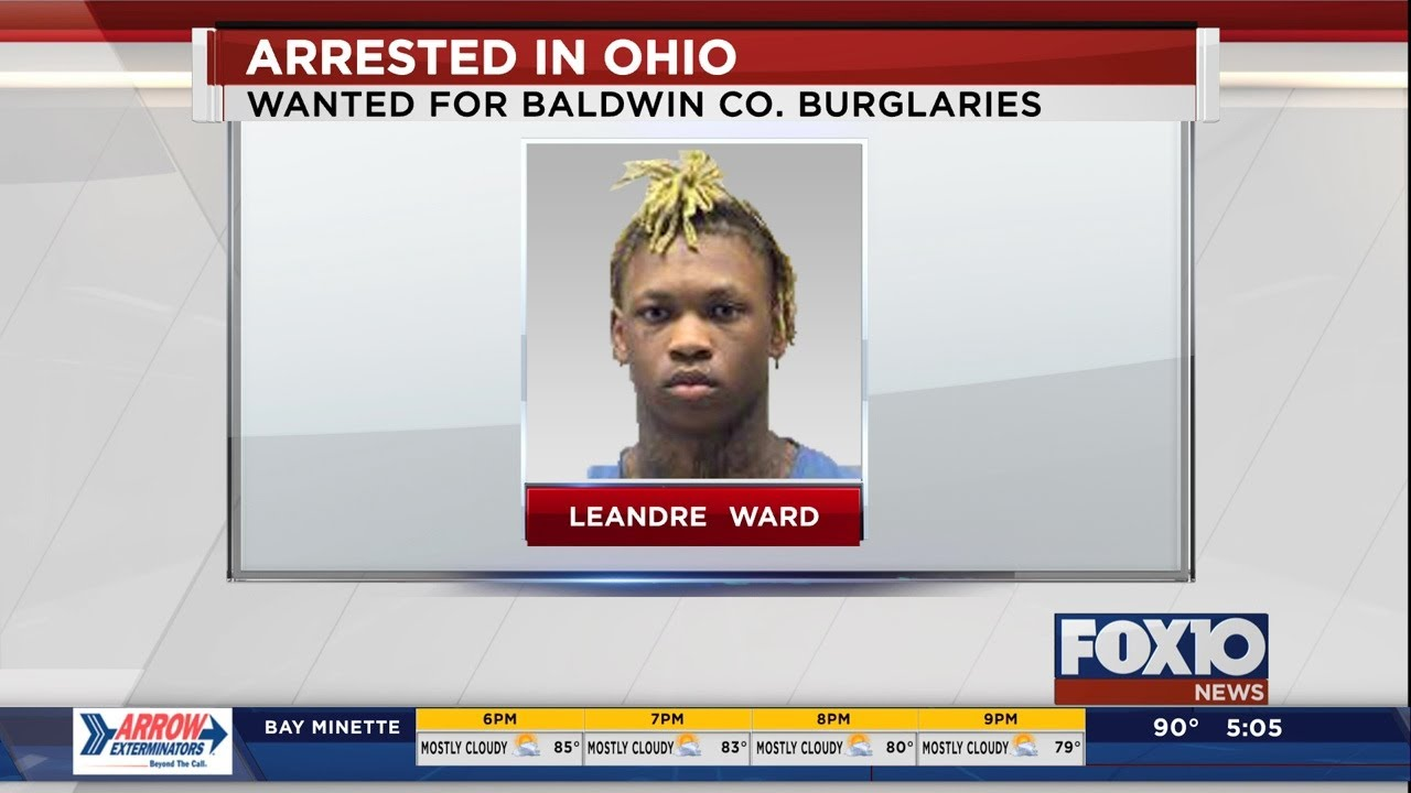 Baldwin County fugitive arrested in Ohio