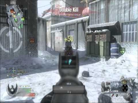 Call of Duty: Black Ops - 21 Kill Streak AK 74u Gameplay