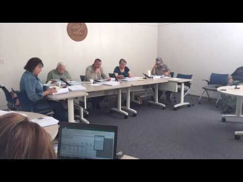 Hawkins County Budget Committee 5-15-17
