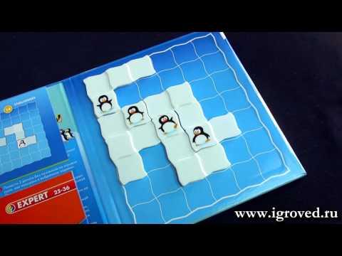 Пингвины на параде. Обзор настольной игры-головоломки от Игроведа