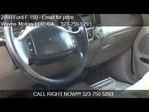 2000 Ford F-150  for sale in Los Angeles, CA 90003 at the Wa