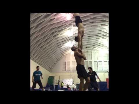 Sports Acro Acrobatics With Tari Mannello, Leah, Mary Morgan, Morgan and Kerry
