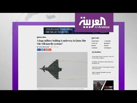 قطر تشتري المقاتلات وتعاني قلة العناصر المشغلة  - نشر قبل 4 ساعة