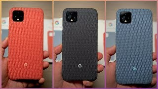 Pixel 4 XL Fabric Case Review