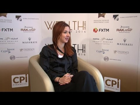 Chantalle Dumonceaux, Co-Founder, WOMENA at the WEALTH Arabia Summit 2016