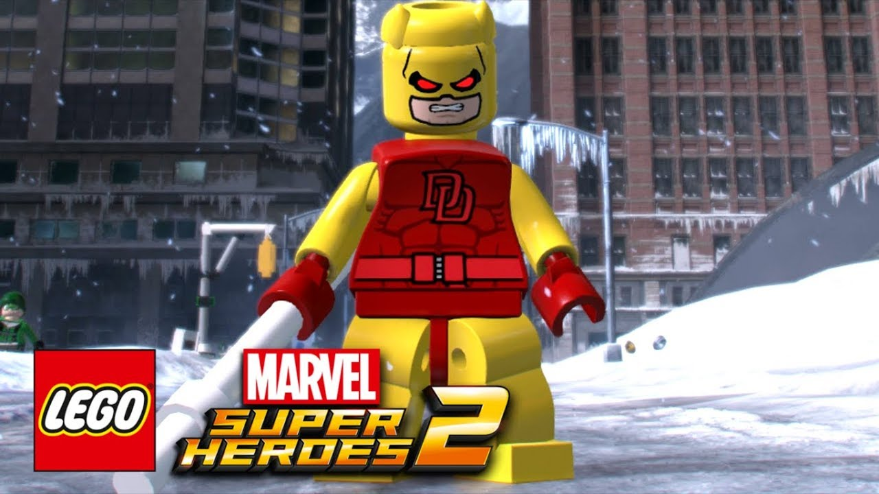 LEGO Marvel Super Heroes 2 - How To Make Daredevil (Yellow ...