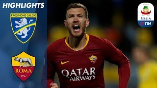 Frosinone 2-3 Roma | Džeko Scores Late as Roma wins 3-2 at Frosinone | Serie A