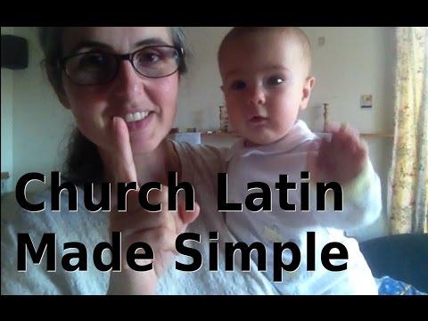 Church Latin Made Simple