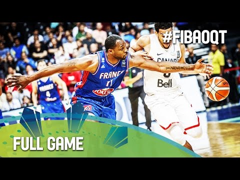 Canada v France - Final - Full Game - 2016 FIBA Olympic Qualifying Tournament - Philippines