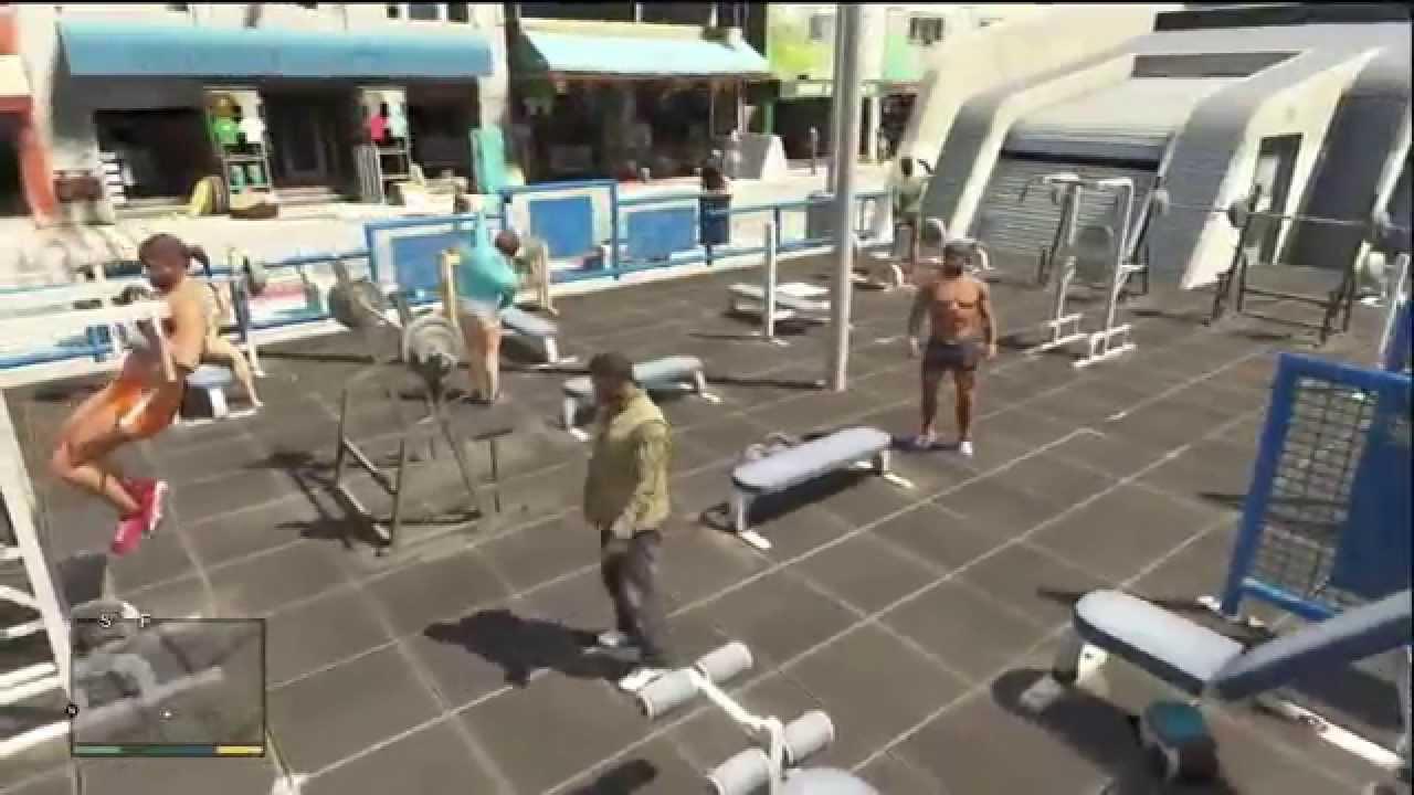 Gta Outdoor Gym Youtube