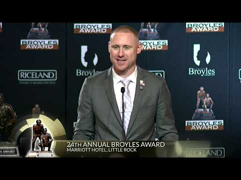 Broyles Award Finalist LSU Passing Game Coordinator Joe Brady