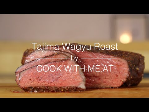 Tajima Wagyu Roast - Smoked Beef Roast Recipe - COOK WITH ME.AT