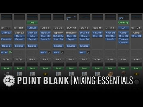 10 Mixing Essentials - Logic Pro (FFL!)