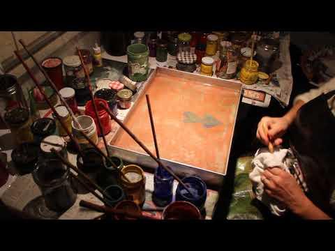 Gul Sefika Balaban Painting Ebru (Marbling)