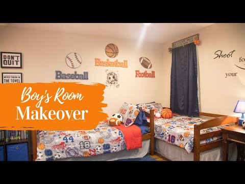 Kids Room Makeover | Sports Theme