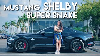 Conheça o Ford Mustang SHELBY SUPER SNAKE: 5.0 V8 Supercharged de 800hp