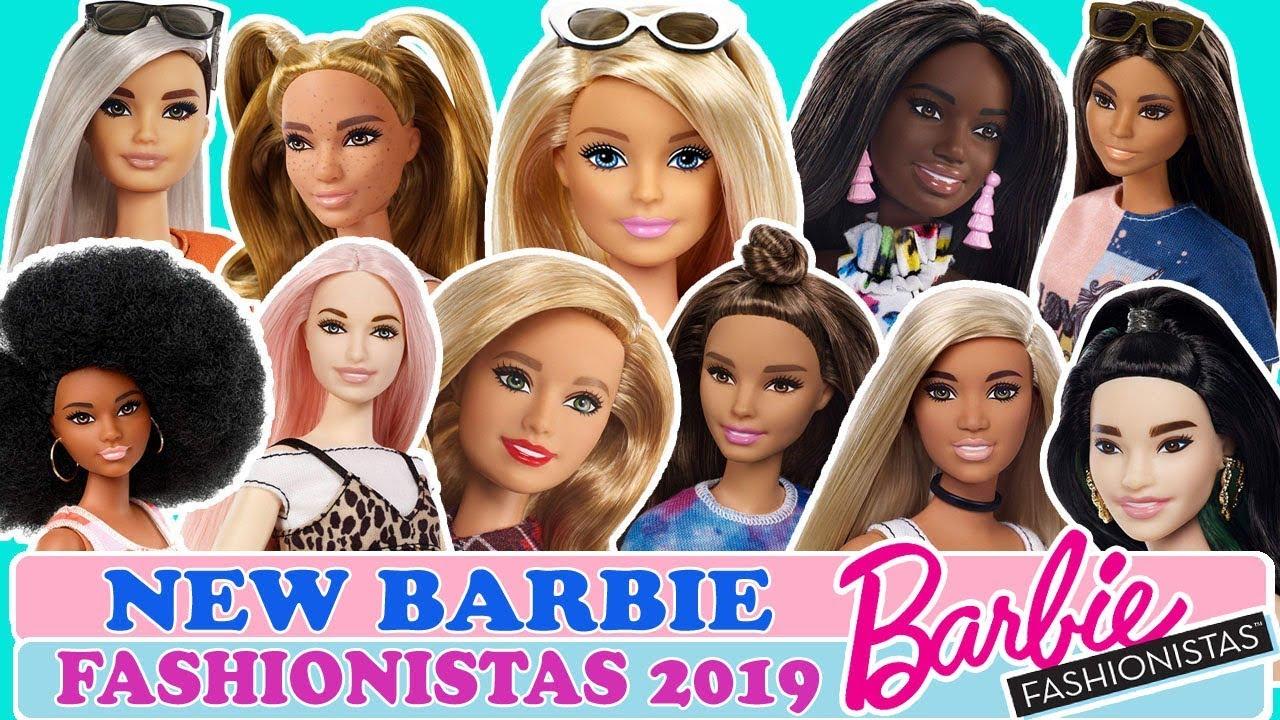 NEW BARBIE FASHIONISTAS 2019!