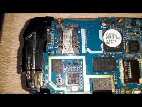 inside SAMSUNG gt-s3100