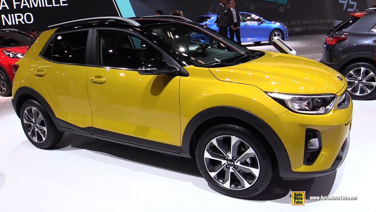 2019 kia stonic exterior and interior walkaround 2018 paris motor show youtube. Black Bedroom Furniture Sets. Home Design Ideas