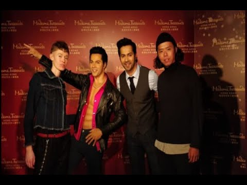 In Graphics: Varun Dhawan unveils his wax statue in Madame Tussauds Hong Kong
