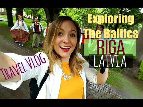 Trip to Riga, Latvia // Exploring the Baltics // TRAVEL VLOG
