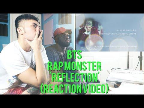 BTS Rap Monster - 'Reflection' - (REACTION VIDEO)