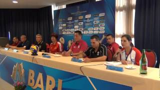 22-09-2014: fivbwomenswch Press Conference - BARI - Jose Mieles (Puertorico)