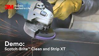 3M Abrasives: Scotch-Brite™ Clean and Strip XT Disc Demo